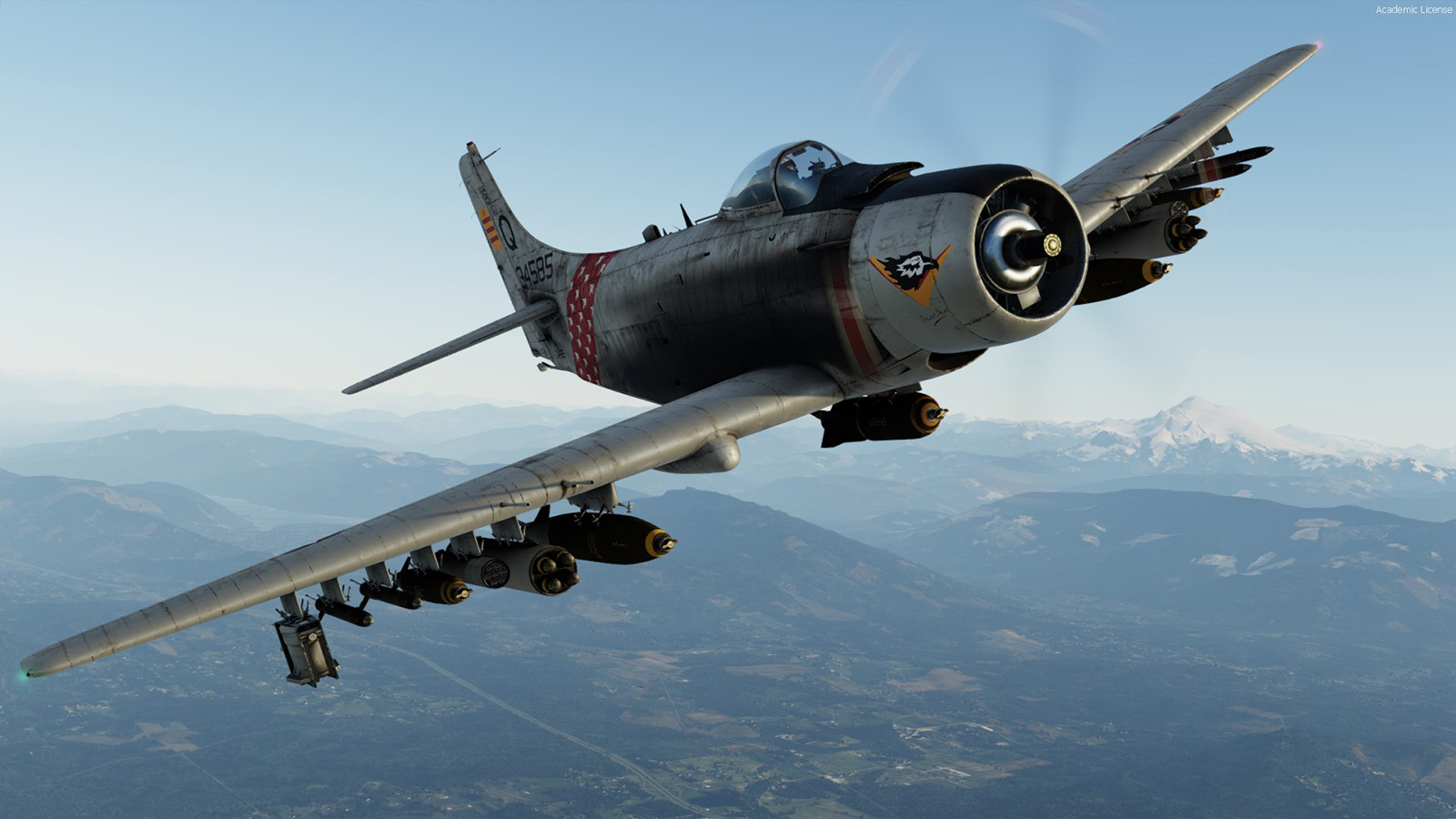 Skyraider for P3D