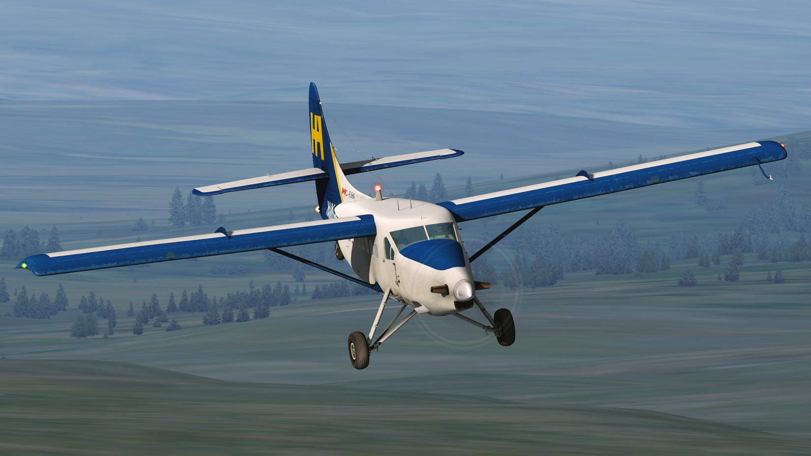 MILVIZ flight simulations - DHC-3T Turbo Otter
