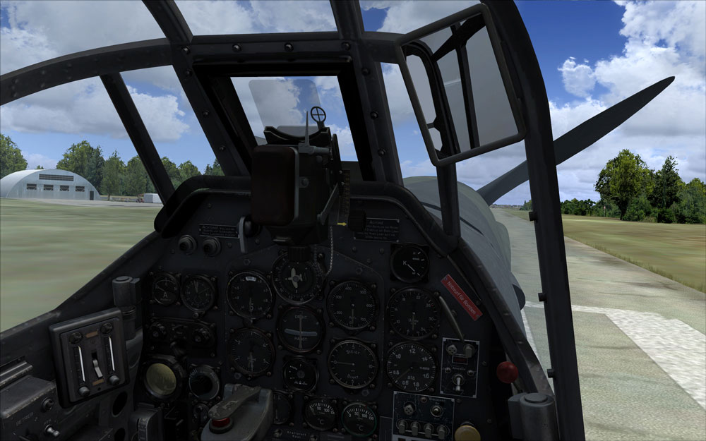 MILVIZ flight simulations - Ju-87 Stuka