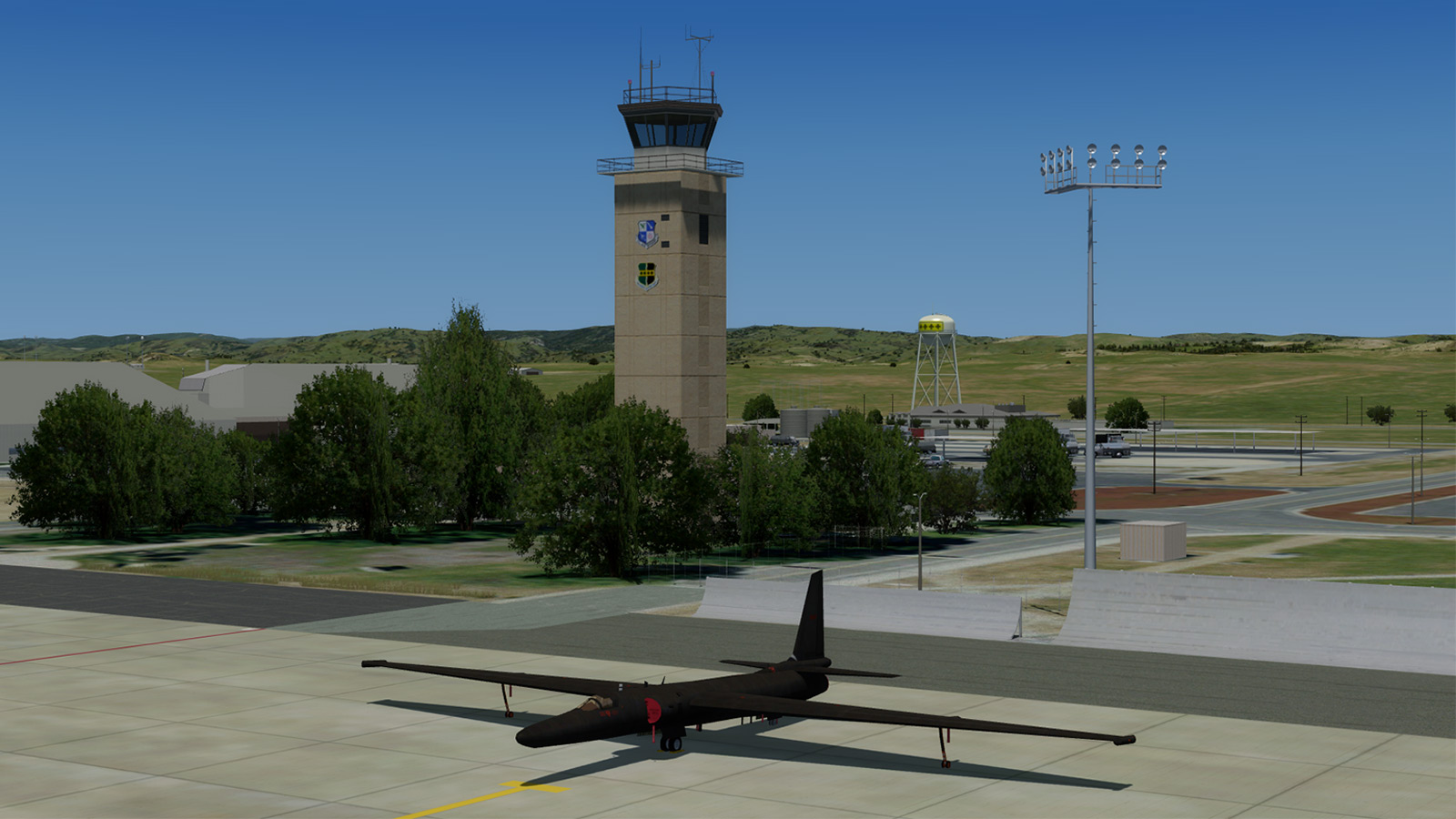 Beale AFB Scenery for P3D