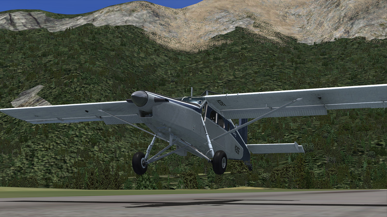 MILVIZ flight simulations - PC-6 Porter for FSX Steam Edition