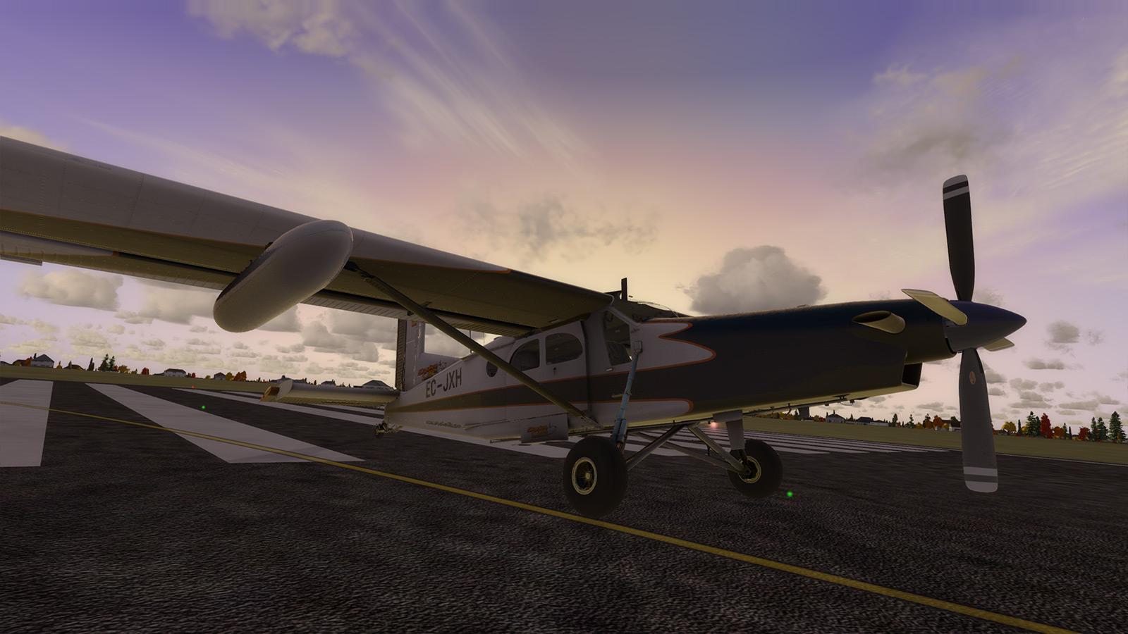 PC-6 sunset