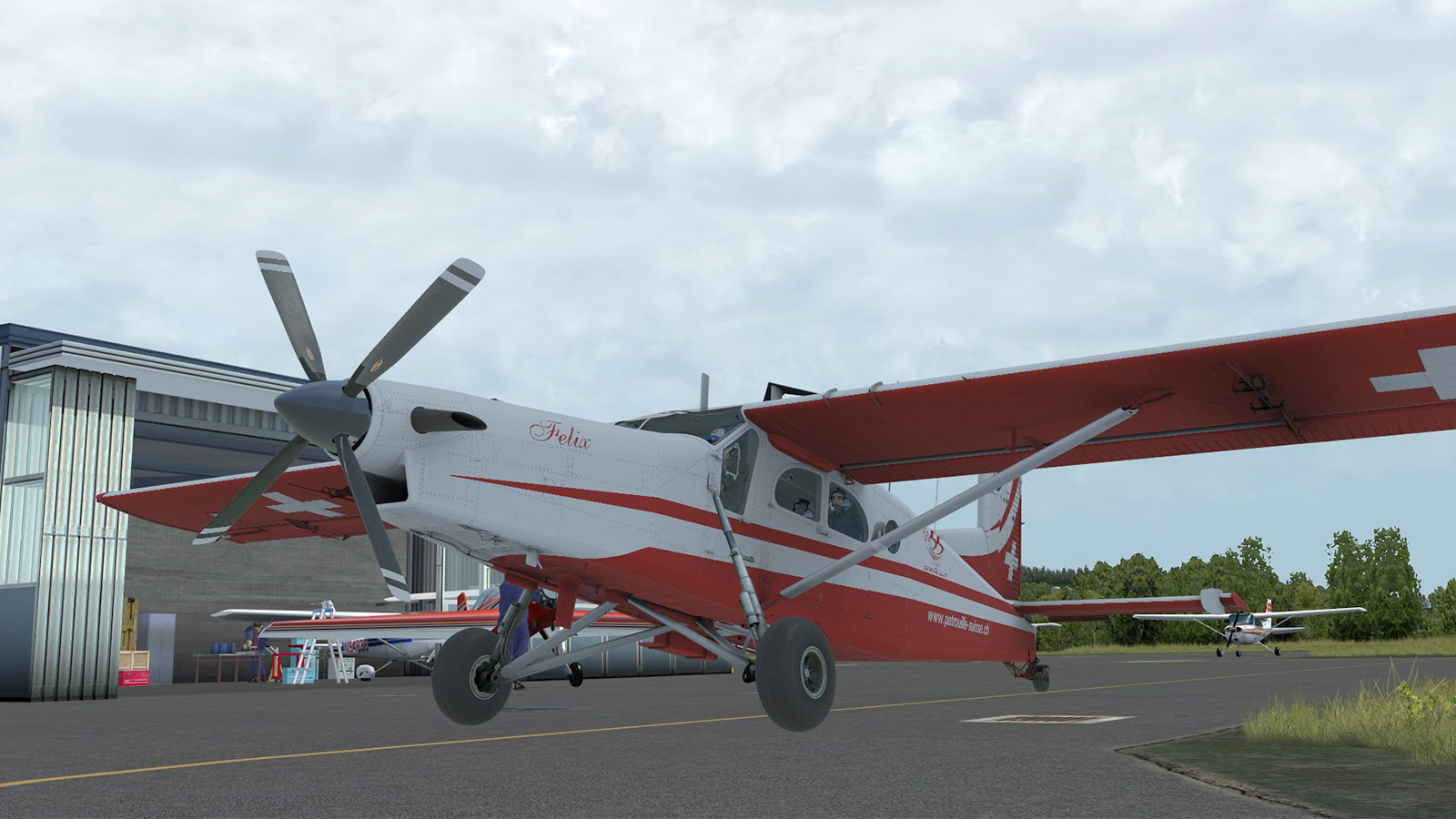 Milviz PC-6 Turbo-Porter