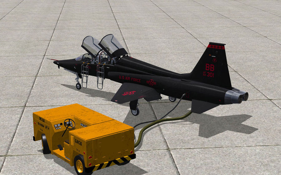 Milviz Flight Simulations T 38a Trainer