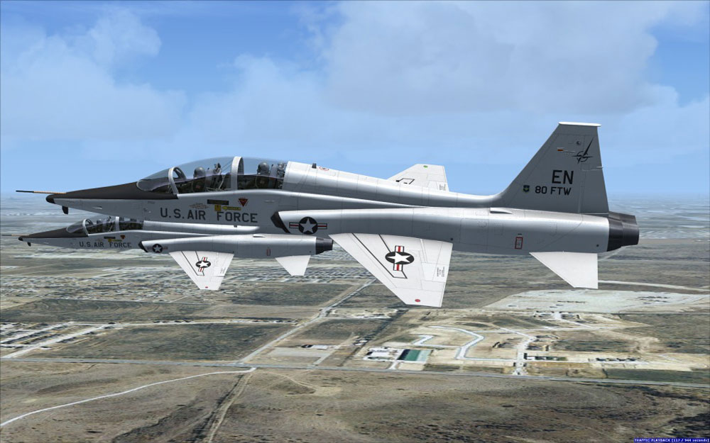 Milviz Flight Simulations Advanced Series T 38a