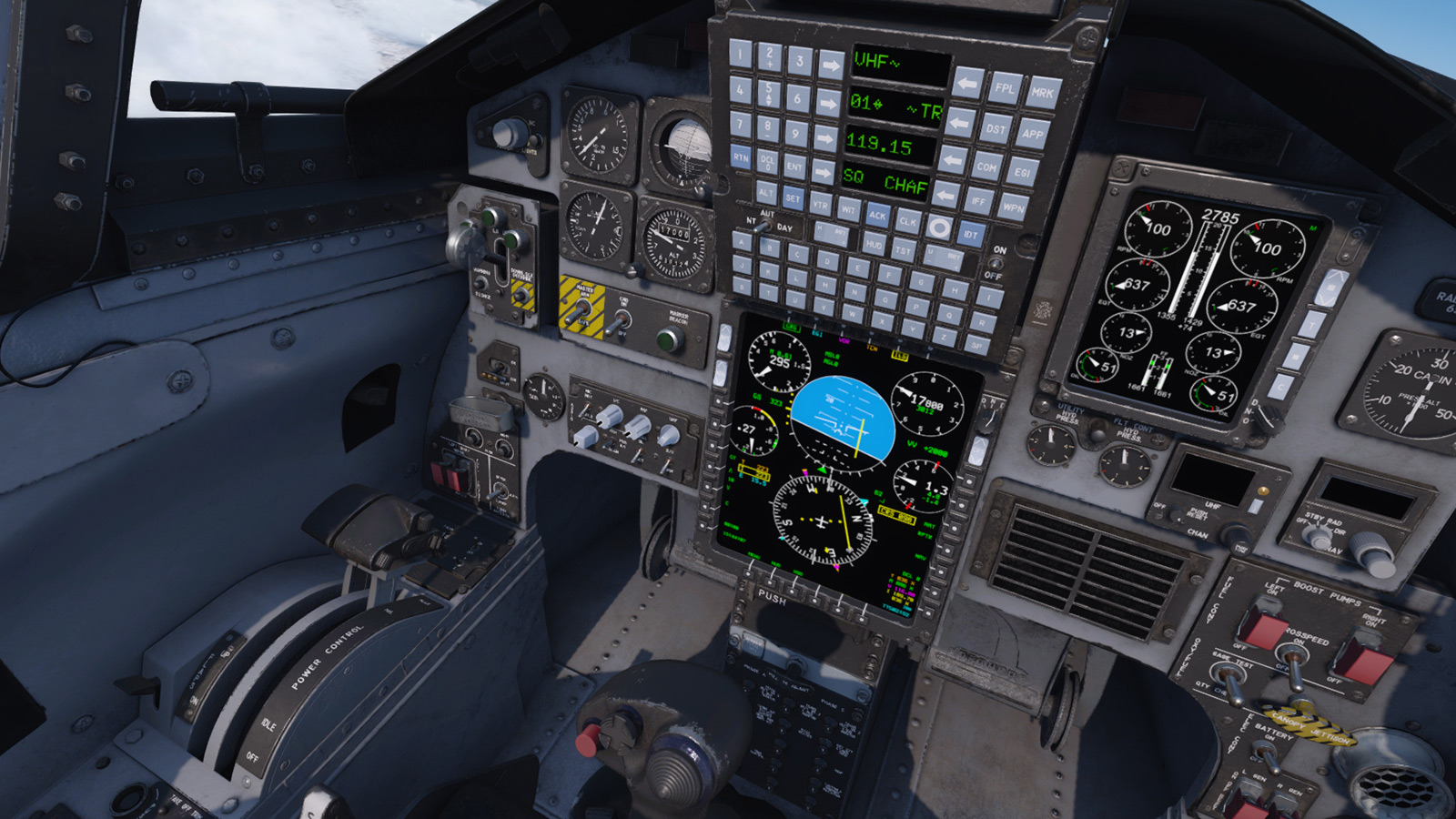 MILVIZ flight simulations - Advanced Series T-38C